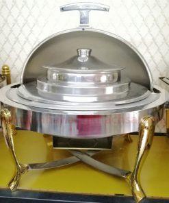 Nồi hâm Soup tròn chân inox vàng BF51181