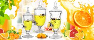 Công dụng tuyệt vời của bình đựng nước ép trái cây