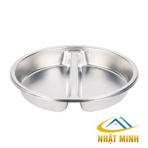 Khay G/N Tròn Chia Ngăn BF39065-2