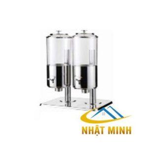 Bình đựng ngũ cốc inox 2 ngăn inox BF90123-2