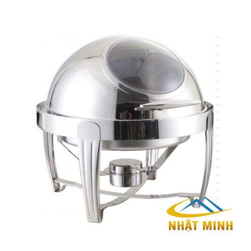 NỒI HÂM BUFFET TRÒN NẮP PC BF-NM721BKS