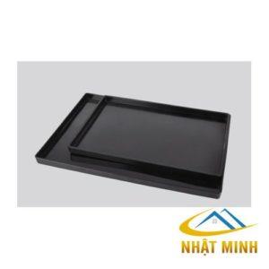 Khay nhựa đen lớn PN411K03