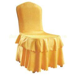 Áo ghế xếp ly 2 tầng