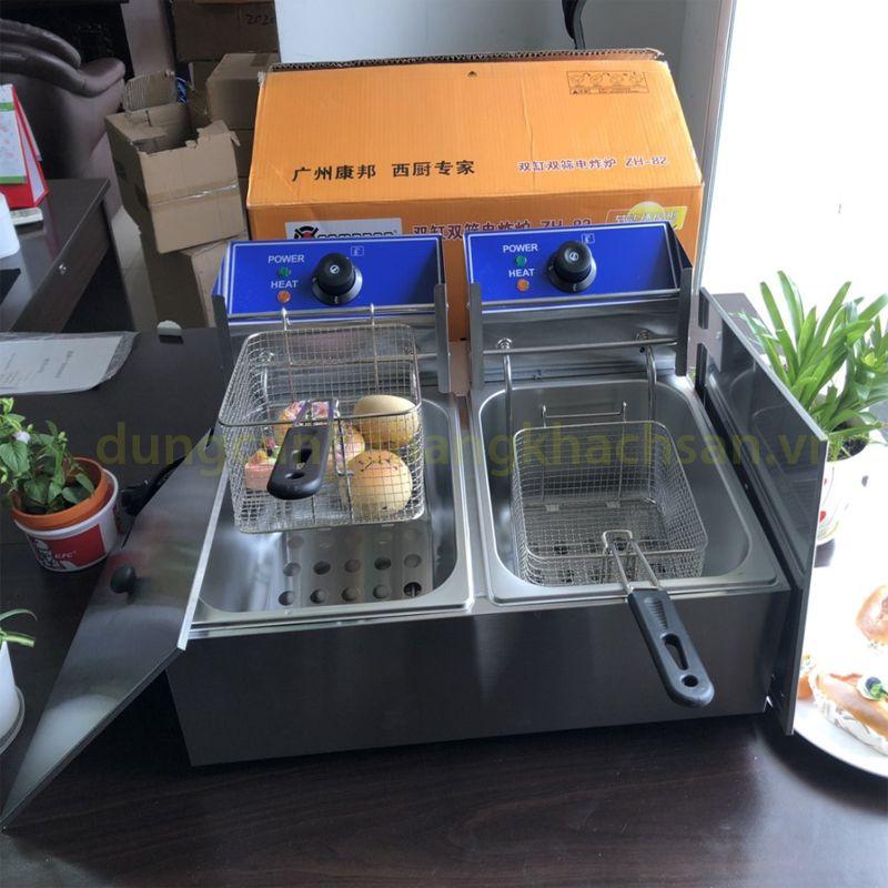 Bếp chiên nhúng đôi dùng điện BE73B02-1