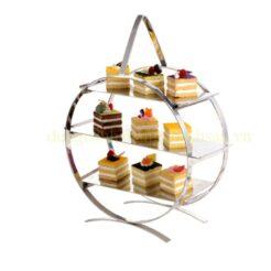 Kệ trang trí buffet tròn BF-NM-KB007-1