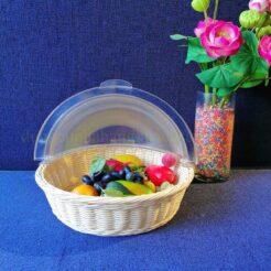 Khay trưng bày thức ăn tròn BF61011