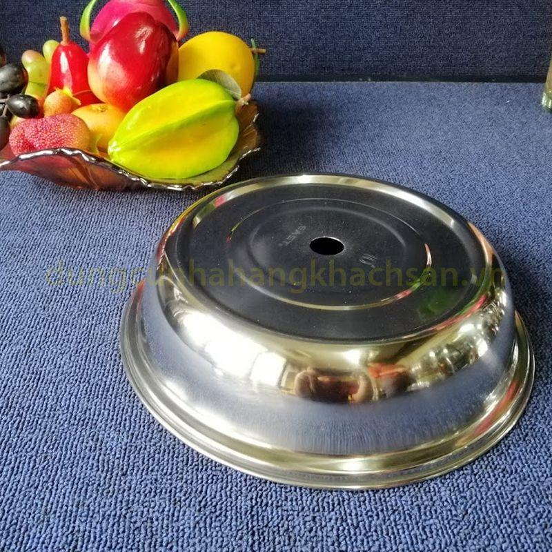Nắp đậy đĩa khay inox tròn PT28N08