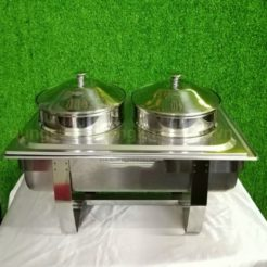 Nồi Hâm Soup Inox chữ nhật 2 Ngăn Giá Rẻ BF771L83-2