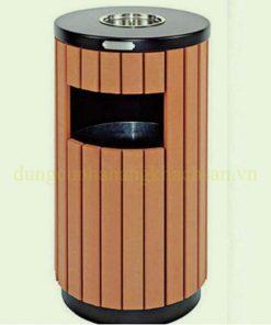 Thùng rác ngoài trời TS15T02