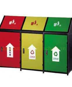 Thùng rác phân loại 3 ngăn NTA37-3