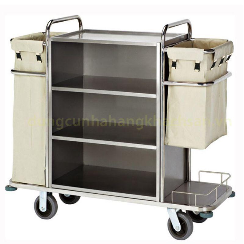 Xe đẩy làm phòng inox VS61X04-304