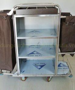 Xe đẩy dọn phòng inox VS61X03-201