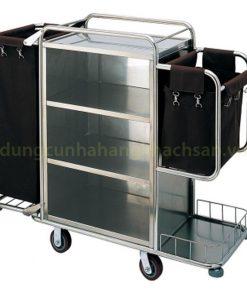 Xe đẩy dọn phòng inox VS61X03-304