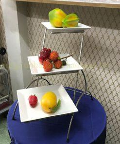 Kệ trưng bày thức ăn 3 tầng BF-NM-KB003