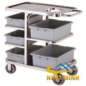 Xe thu gom thức ăn có hộc rác PT-NM-XTA03