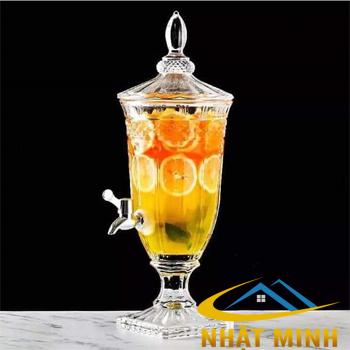 Bình đựng nước ép trái cây Thủy Tinh 3.5L BF_TT305
