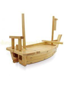 Thuyền gỗ trang trí hải sản BF-NM-TG83
