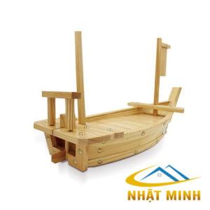 Thuyền gỗ trang trí hải sản BF-NM-TG63