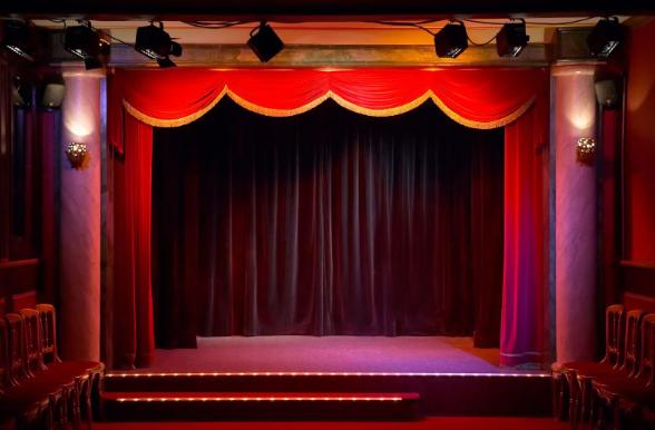 Bục sân khấu cố định
