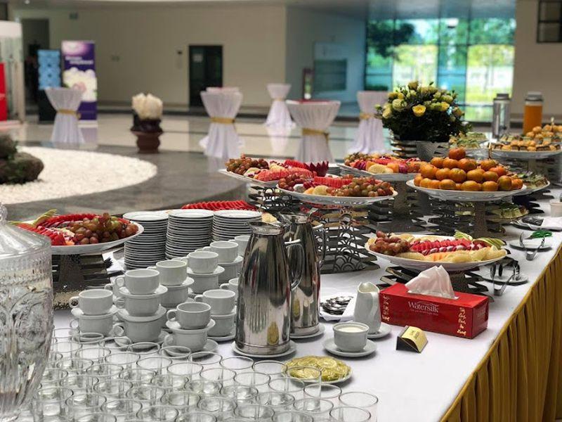 Thiết bị nhà hàng khách sạn tiệc buffet