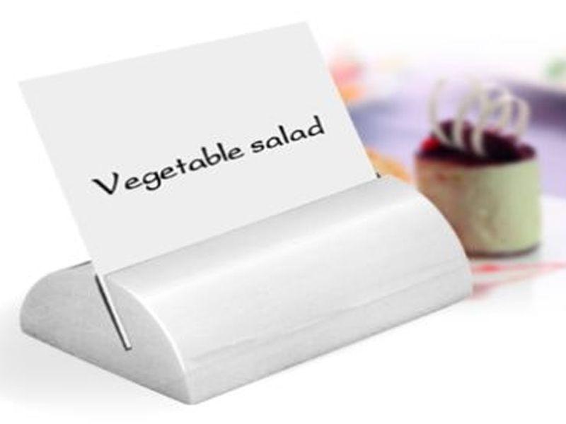 Cây menu để bàn