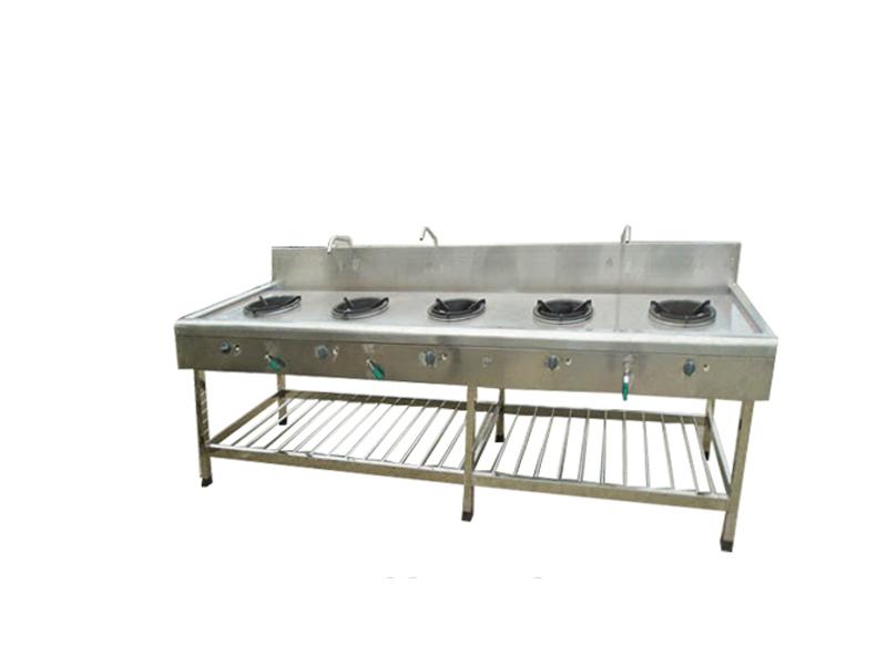 Mẫu mã bếp công nghiệp đa dạng về thiết kế lẫn kích thước