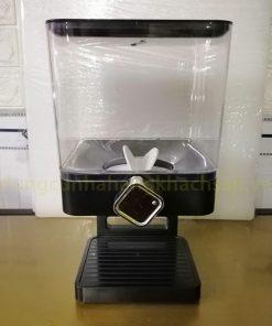 Bình đựng ngũ cốc 1 ngăn màu đen BCD01B