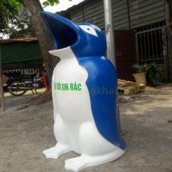 Thùng rác hình chim cánh cụt TR-TCHIM