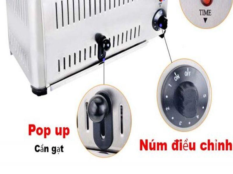 Công tắc điều chỉnh máy nướng