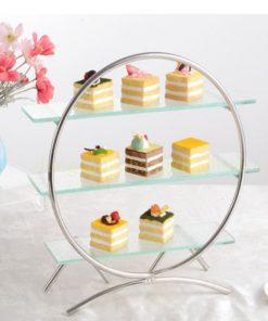 Kệ trang trí buffet tròn BF-NM-KB007-2
