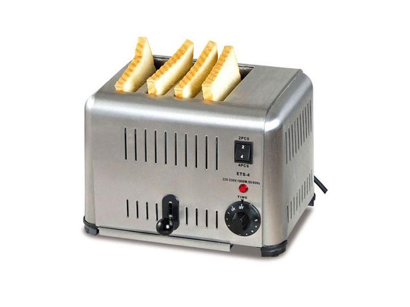 Hướng dẫn sử dụng máy nướng bánh mì 4 hoặc 6 ngăn