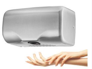 Máy sấy tay giúp hông khô nhanh chóng
