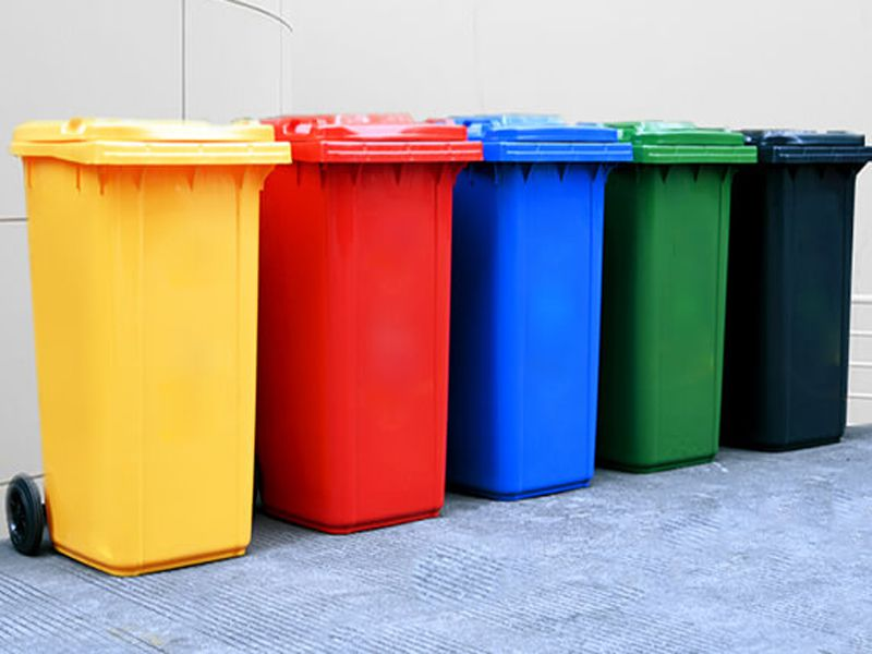 Thùng rác 120L sản phẩm phổ biến trong khu công nghiệp hiện nay