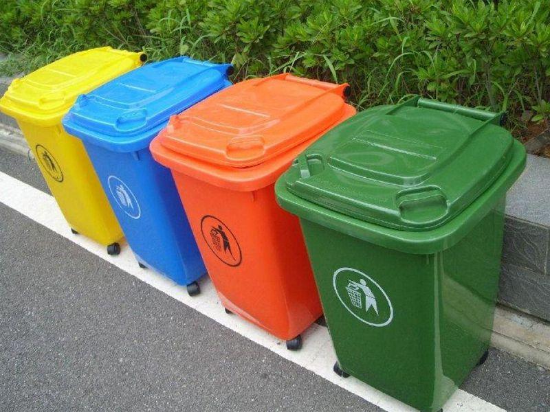 Thùng rác chuyên dụng cho khu công nghiệp nên dùng loại nào?