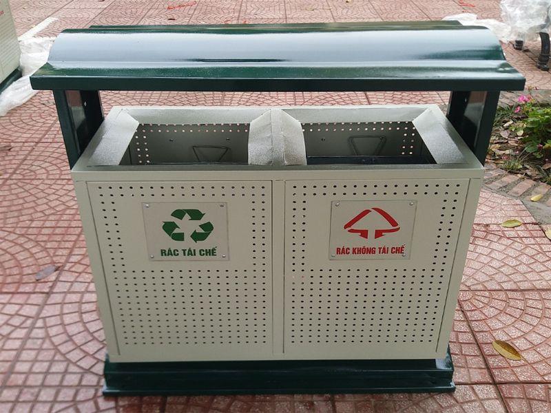 Mẫu thùng rác này mang lại độ bền cao