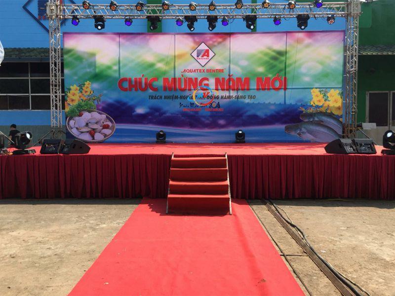 Bục sân khấu Nhật Minh vững chắc, bền bỉ