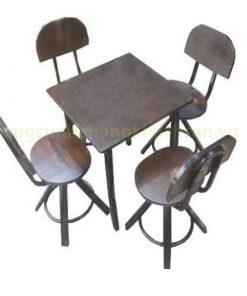 Bàn ghế Vintage PT-BGB- 0041