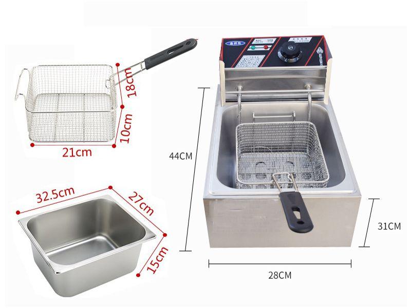 Bếp chiên nhúng nhà hàng một thiết bị rất phổ biến vì sự tiện lợi cũng như tiết kiệm chi phí tối đa