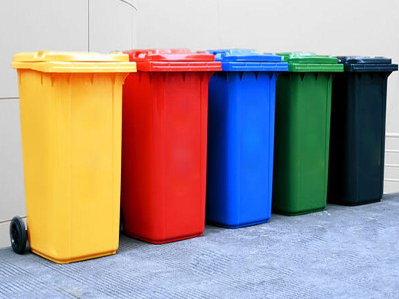 Thùng rác nhựa có nhiều mẫu mã đa dạng giúp bạn dễ dàng chọn lựa