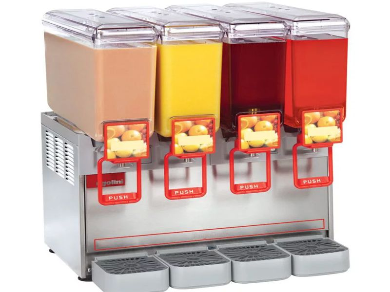 Máy có khả năng làm lạnh nhanh nhưng vẫn giữ được độ tươi ngon