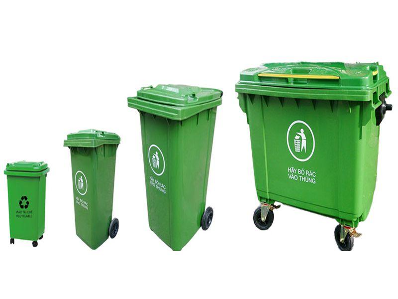 Thùng rác trên thị trường hiện nay thường có nhiều dung tích khác nhau để bạn có thể lựa chọn theo nhu cầu sử dụng