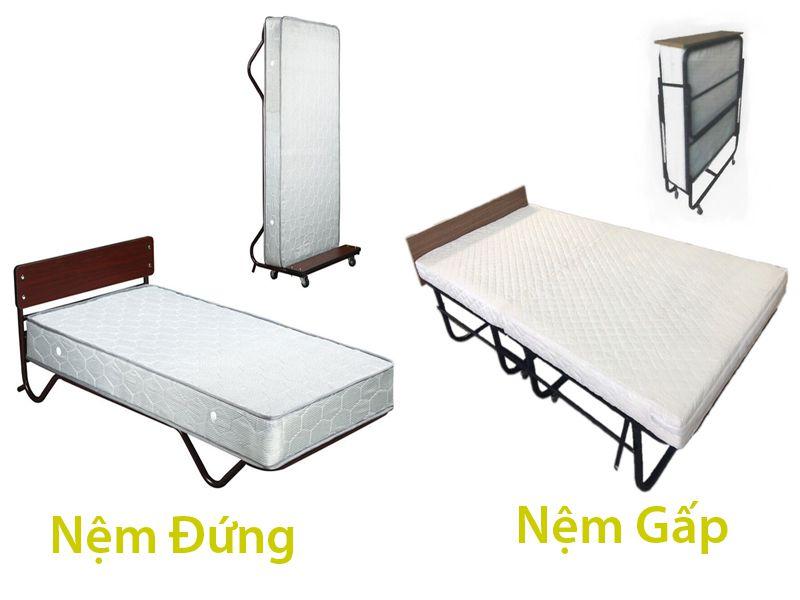 Bạn nên chọn giường phụ nệm gấp hay nệm đứng