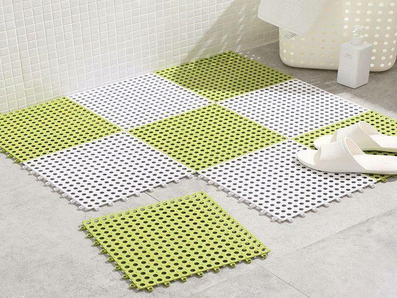 Nên sử dụng thảm có kích thước phù hợp với phòng tắm khách sạn