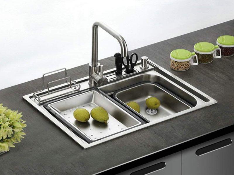 Lựa chọn hố của chậu rửa phù hợp với nhu cầu sử dụng của bạn