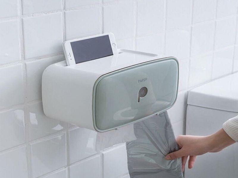 Hộp đựng giấy vệ sinh tiết kiệm không gian phòng tắm
