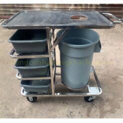 Xe thu gom thức ăn có hộc rác PT-NM-XTA02