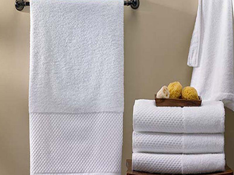 Chất lượng khăn tại khách sạn 5 sao thường được đảm bảo về độ an toàn chất lượng