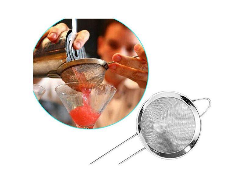 Double Strainer được sử dụng để lọc các mảnh đá siêu nhỏ hoặc các loại thảo mộc