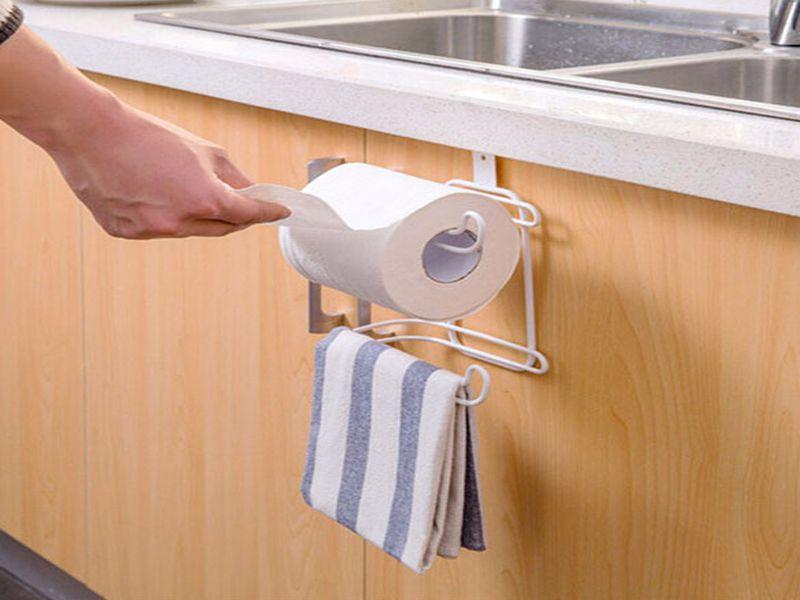 Móc treo có thể dùng để đựng cuộn giấy vệ sinh trong phòng tắm