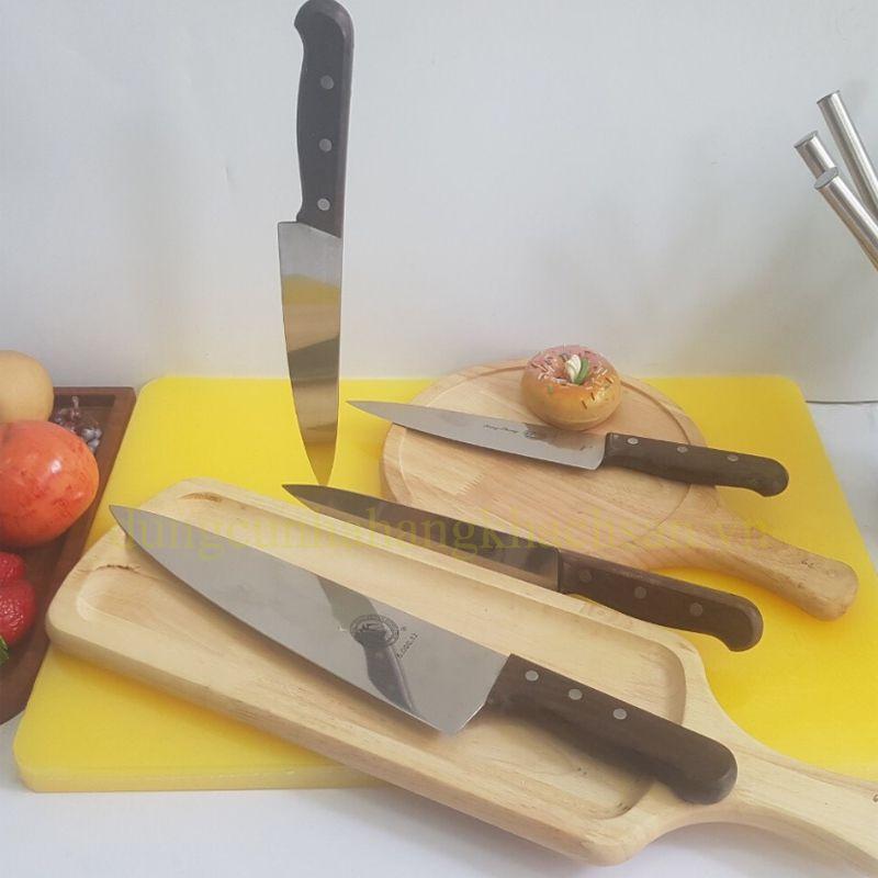 Dao bếp cán gỗ dài BE716D98